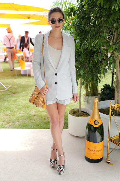 1eb44abb8d0b ... attended the Ninth Annual Veuve Clicquot Polo Classic in Jersey City  today