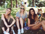 Nina Dobrev Hangs with Candice Accola & Friends in NYC ...
