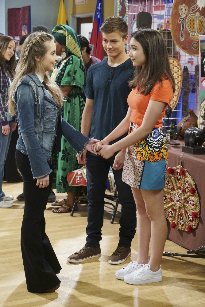SABRINA CARPENTER, PEYTON MEYER, ROWAN BLANCHARD