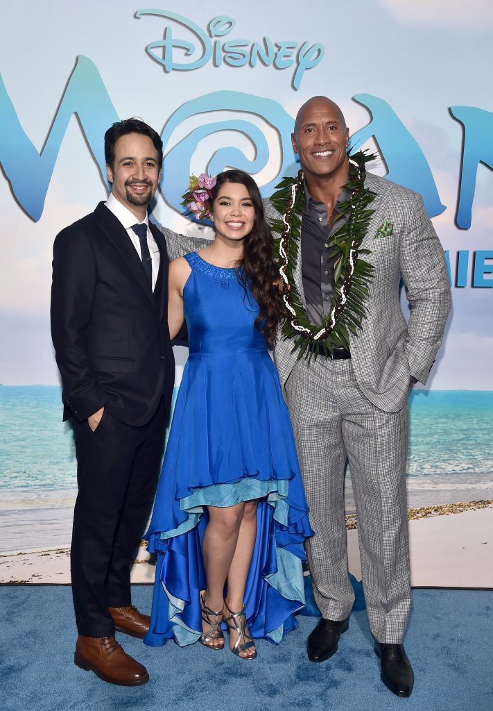 "The World Premiere of Disney's ""MOANA"""