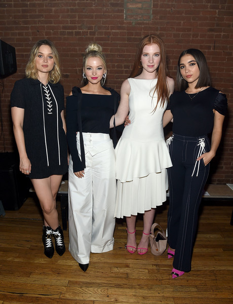 0334cf0a0ba9 Dove Cameron and Rowan Blanchard attended the Adeam Fashion Show in New  York City earlier today