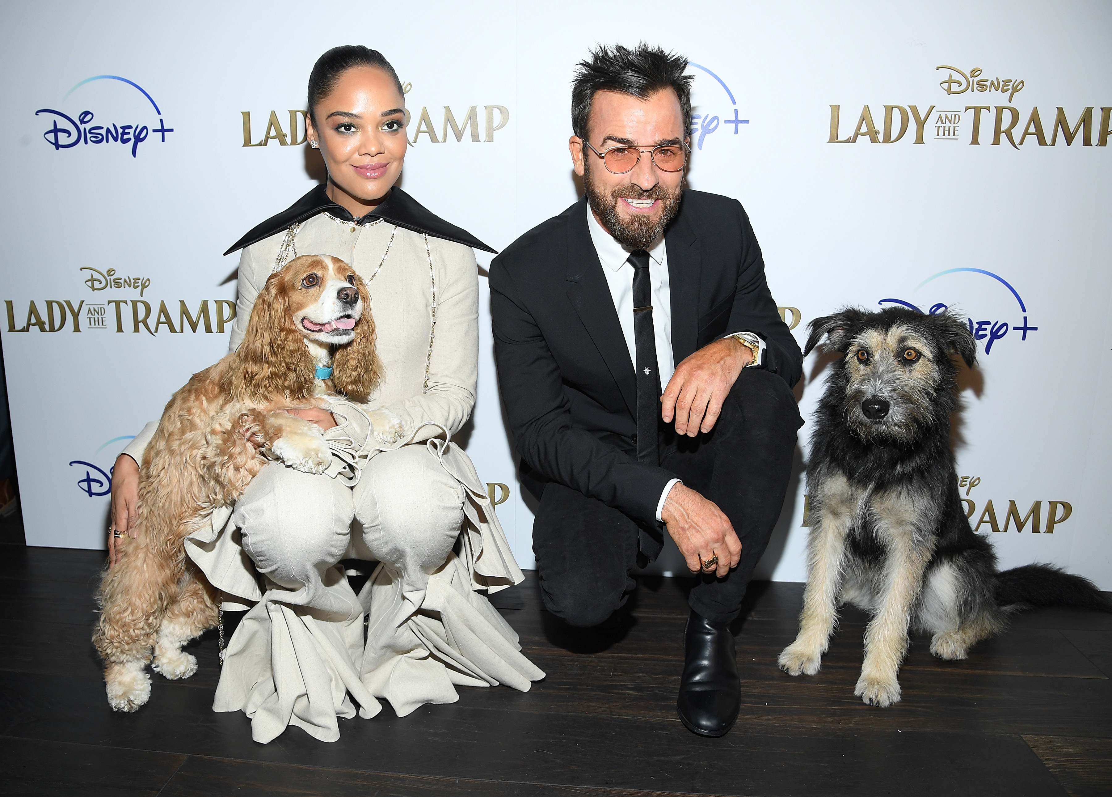 The Cast Of Disney S Lady And The Tramp Premiere Movie In Nyc Beautifulballad